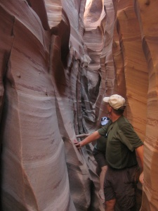 Slot canyons offer exciting hiking provided you you follow appropriate safety precautions.