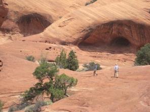 Navajo Sandstone Overhangs