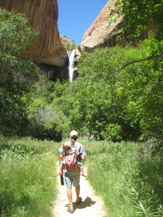 Trail to Calf Creek Falls