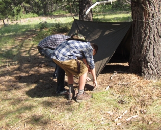 Making a Shelter