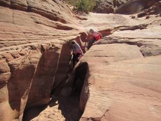 Slot Canyon Exploration