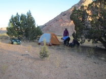 Camping on the Dunes
